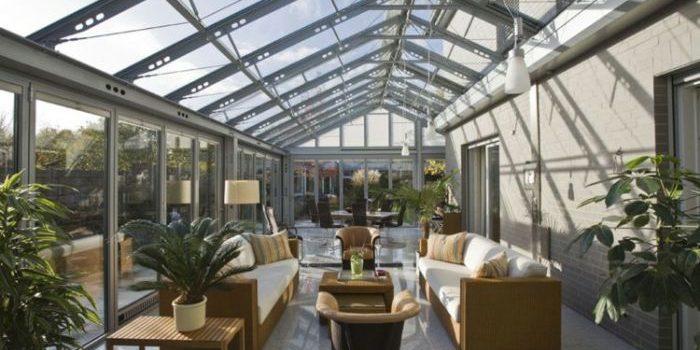 Idée d'aménagement de jardin d'hiver