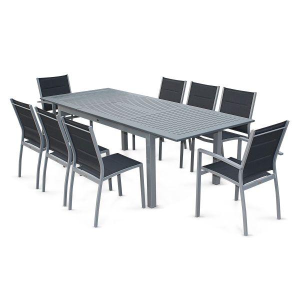 Le mobilier de jardin en aluminium