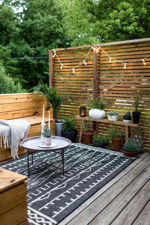 tapis de terrasse